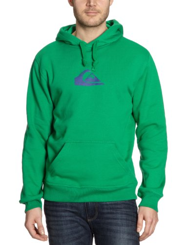 Quiksilver Herren Kapuzen Hoody Rib Logo, field green, 56-58, KMMSW911Q