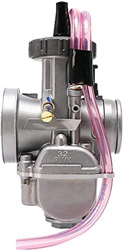 WPLHH Keihin / 28 mm, 30 mm, 32 mm, 34 mm, carburador de motocicleta para 125-250 cc, 2T 4T Moto ATV UTV Pit Bike Dirt Bike, equipo de carburador (color: KEIHI 32 mm)