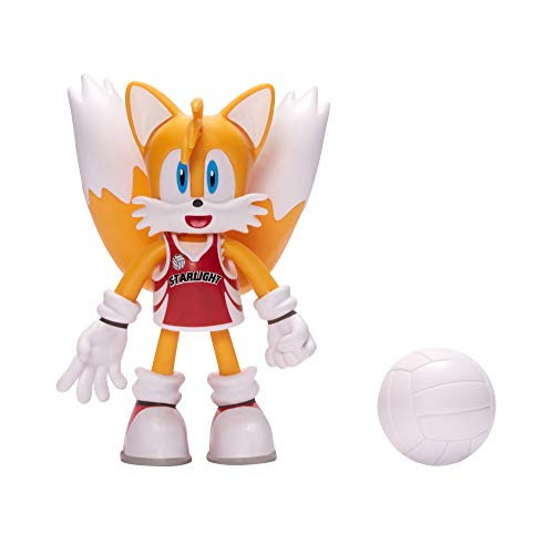 Sonic The Hedgehog Tails 4u0022 volleyball Knuckles Action Figure