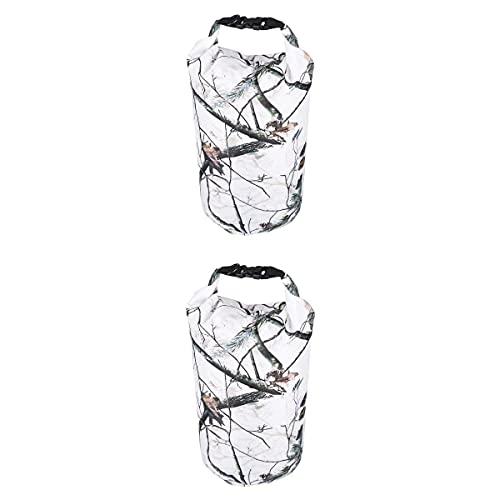 Bolsa seca impermeable 2X para kayak/piragüismo/vela/camping