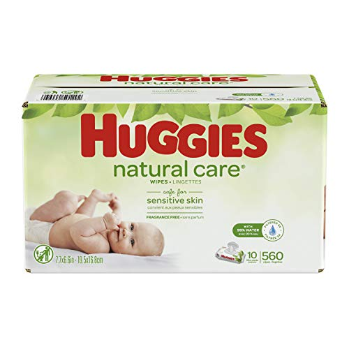 16.8 X 19.5 cm Huggies Natural Care Plus Baby Wipes