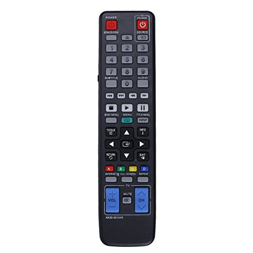 Control Remoto de TV AK59-00104R Blue-Ray Reproductor de DVD Control Remoto para Samsung