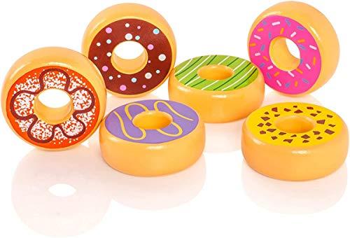 Viga Toys - Donuts - 6 stücke