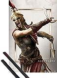 1art1 Assassin's Creed Poster (91x61 cm) Odyssey Kassandra