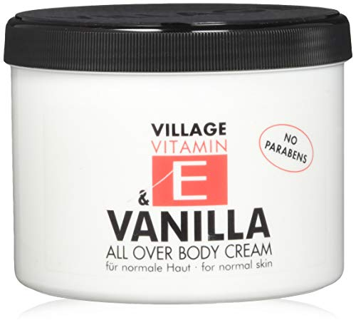 Village 9506-05 Vanilla Body Cream 500ml mit Vitamin E
