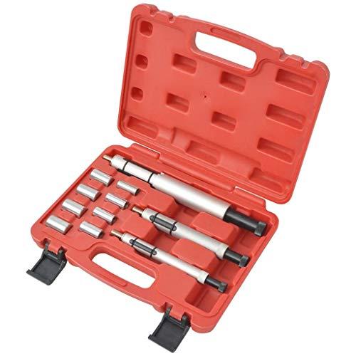 vidaXL 11-TLG. Kupplung Zentrier Werkzeug Satz Zentrierwerkzeug Set Zentrierdorn