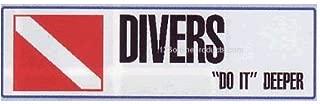 Best divers do it deeper bumper sticker Reviews