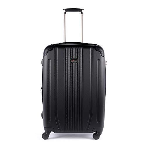 Koffer voor middelgrote verblijf, harde schaal, 8 rollen, Horizon Alpini