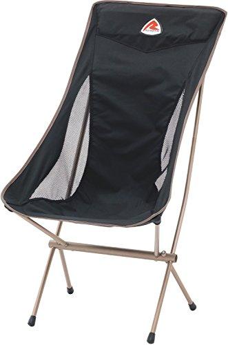 Robens Chaise de Camping Unisexe Observer Taille Unique Noir