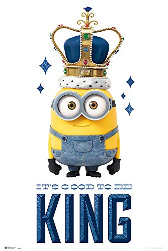 Minions - It´s Good to Be King - Poster Plakat - Größe 61x91,5 cm