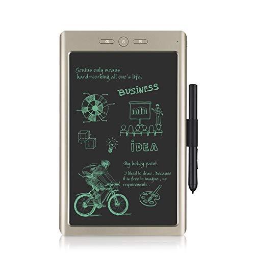 Tuzi 9-Zoll-Smart-Digital-Zeichenbrett Bluetooth USB zum Mobiltelefon verbunden, Wolke Hinweis mit Hochpräzisions-Kugelschreiber QiuGe