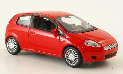 Fiat Grande Punto, rot, Modellauto, Fertigmodell, MCW-SC20 1:43
