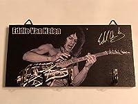 ウッドウォールキーフック【Edward Van Halen/エドワード・ヴァン・ヘイレン】ロック/ギター/木製/壁掛け/Key hook/玄関/鍵/収納/インテリア/雑貨/小物 (2) [並行輸入品]