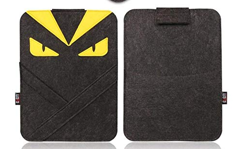 SMZNXF Tablet PC case, Felt Laptop Sleeve Bag for 13 case Air Retina 11 12 13.3 14 15 inch Cartoon Laptop Case for Mac 13,1,2016,11,2019 pro 13