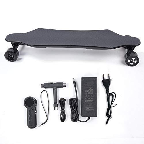 Keenso Ferngesteuertes Longboard-Skateboard, bürstenloser 900-W-Dual-Hub-Motor, elektrisches Allrad-Longboard mit Dual-Drive(110~240V, EU Regulations)