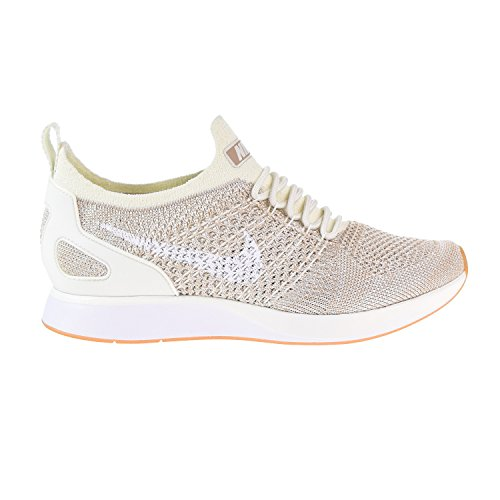 Nike Air Zoom Mariah Flyknit Racer Womens's Shoe Sail/White/Gum aa0521-100 (7 B(M) US)