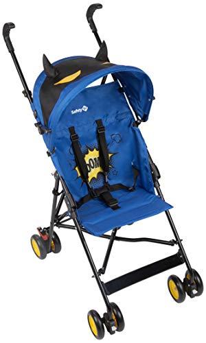 Safety 1st Buggy, Crazy Peps mit lustigem Sonnenverdeck, kompakter und wendiger Kinderwagen, ideal für unterwegs, nutzbar ab ca. 6 Monate - bis max. 15 kg, super blau