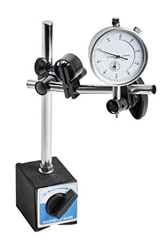 WABECO Magnet-Messstativ mit Messuhr Messstativ mit Magnetfuß Messuhrhalter