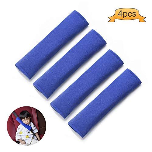Küchentraumautogurt-Abdeckungs-Auflage, Auto-Sicherheitsgurt-Bügel-Schulter-Auflage für Erwachsene und Kinder (Blau)