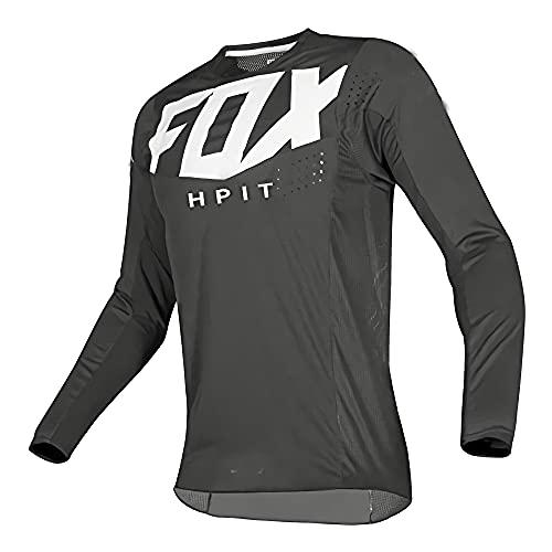 Camiseta de ciclismo para hombre, de manga corta, para ciclismo, motocross, BMX, carreras, de manga corta, ropa de ciclismo, Mx Verano, Hpit Fox MTB, locomotora Imagen XXXL