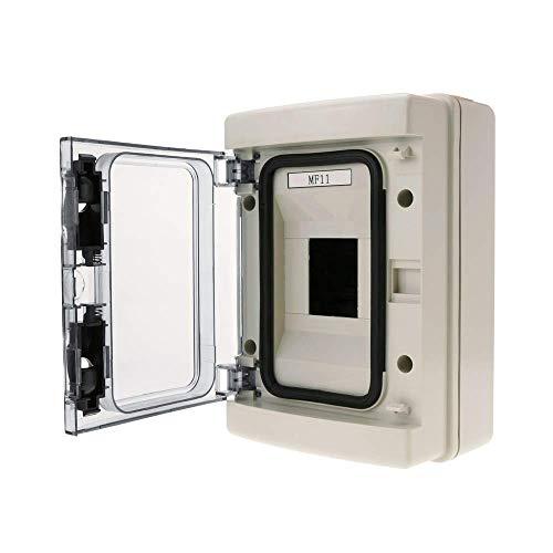 BeMatik - Quadro di distribuzione elettrica di 4 Moduli Scatola Superficie di plastica ABS IP65 SPN HA