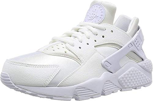 Nike Wmns Air Huarache Run, Women's Trainers, White (White / White), 3 UK