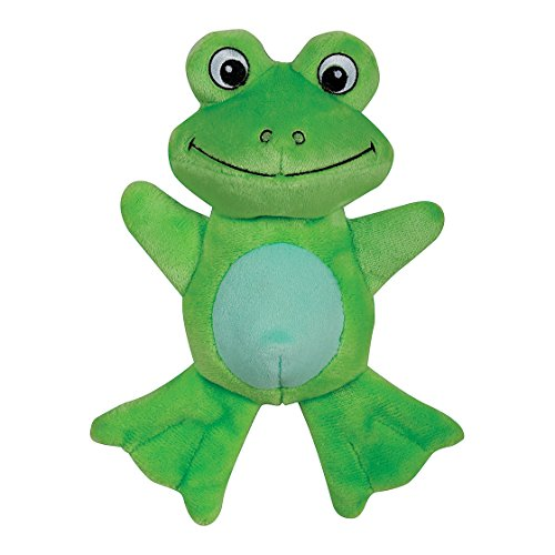 Smart Pet Love - Tender-Tuffs - Comfort - Tough Dog Toy - Proprietary TearBlok Technology - Green Frog