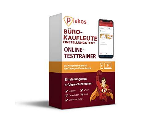Bürokaufmann / Bürokauffrau / Kaufleute für Büromanagement Einstellungstest Online-Testtrainer: Vorbereitung mit authentischen & interaktiven Aufgaben mit Lösungen   Tipps zum Auswahlverfahren
