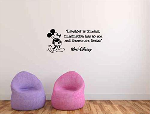 stickers muraux enfants bleu stickers muraux jungle b Nursery wall decal Laughter is Timeless Imagination Has No Age and Dreams are Forever Walt Disney Vinyl Wall Words Deca for nursery kids room