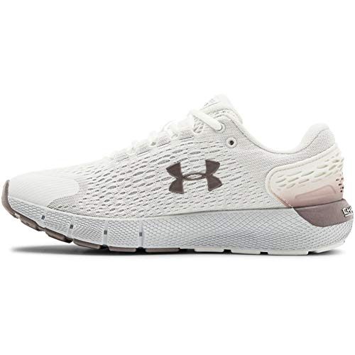 Under Armour Women's Charged Rogue 2 Running Shoe, White, 6.5 Wide US