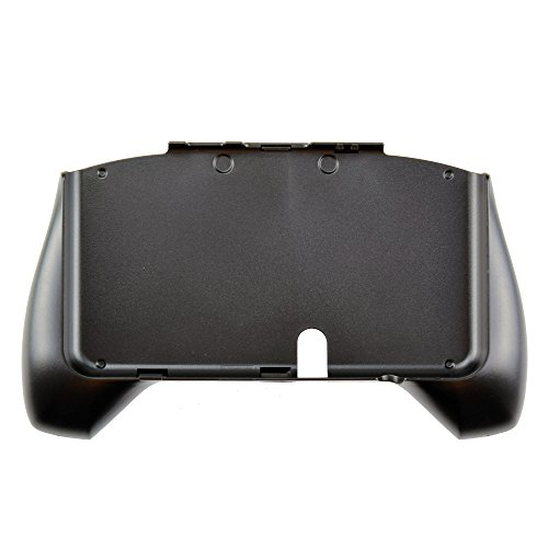 Gam3Gear Plastic Hand Grip Holder Gaming Case with Handle Stand for Nintendo New 3DS Black (NOT FOR XL version)
