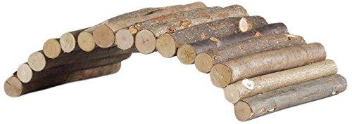 Beeztees Pont en Bois pour Rongeur 22 cm