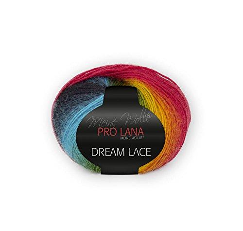 NEU Pro Lana Deam Lace, tolles Lacegarn, 50 g Knäuel 200 Meter LL, 75 % Schurwolle / 25 % Polyamid (180)