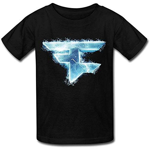 Geek Faze Clan Template T-Shirt Black for Youth