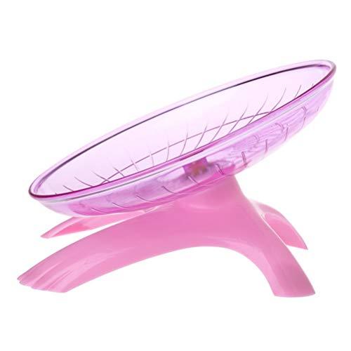 POPETPOP Flying Saucer Wheel Spinner Non Slip Run Disc for Hamsters...