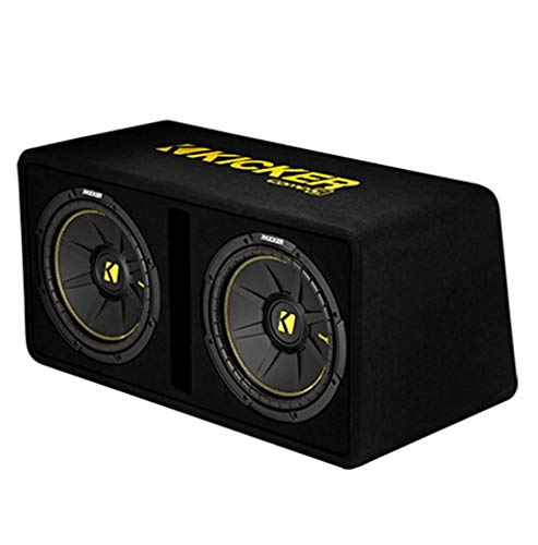 Kicker 44DCWC102 CompC Dual 10 Inch 1200 Watt Single 2