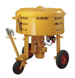 Zwangsmischer Betonmischer 300L SoRoTo Made in Europa