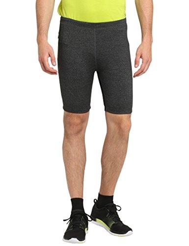 Ultrasport Serta, Pantalone da Jogging Uomo, Grigio Scuro Miscela, S
