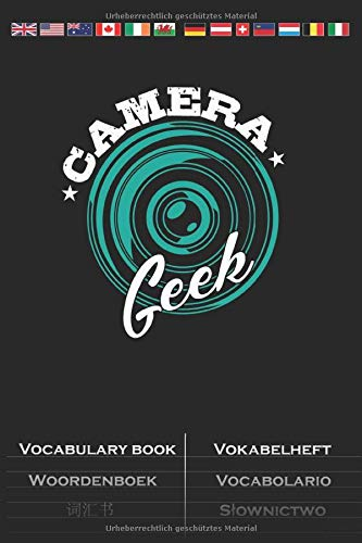 Camera 'Geek' Vocabulary Book: Vocabulary textbook with 2 columns for Enthusiasts of the stylistic image