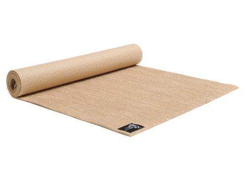 Yogistar Yogamatte Jute - rutschfest aus Naturmaterial - Jute