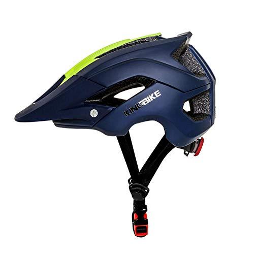 Knowled Fahrradhelm Herren Damen Mütze Regenschutz Schwarz Grün Dunkelblau Hellblau Fahrrad Helm Verstellbarer Riemen Ultraleichter, Abnehmbarer, Stoßfester Sonnenschutz Für Fahrten Im Imaginative
