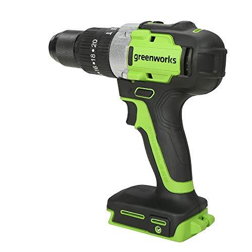 Greenworks Tools 3704107 Trapani a percussione, 24 V