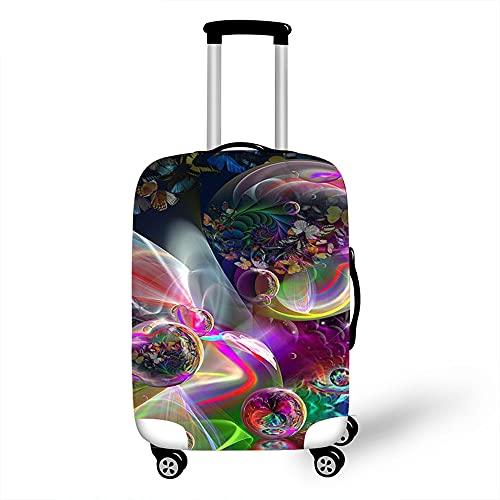 Cover Proteggi Valigia Elasticizzata, Morbuy Suitcase Bagagli Luggage Cover Valigia Anti-graffio Anti-Polvere Elastico Custodia Protettiva da Viaggio (Colorato,M)