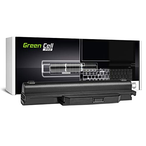 Green Cell PRO Extended Serie A32-K53 A41-K53 Batteria per Portatile Asus K53 K53E K53S K53SJ K53SV K53U X53 X53S X53SV X53U X54 X54C X54F X54H X54L (Le Pile Originali Samsung SDI, 9 Pile, 7800mAh)