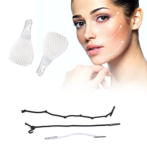 B/C 120 Pcs Face Lift Tape, Instant Face Lifting Stickers, Double Chin Tape Lift Invisible Face Tape Lifting Double Chin Reducer Tool, Makeup Face Lift Tools for Face Tape Lifting