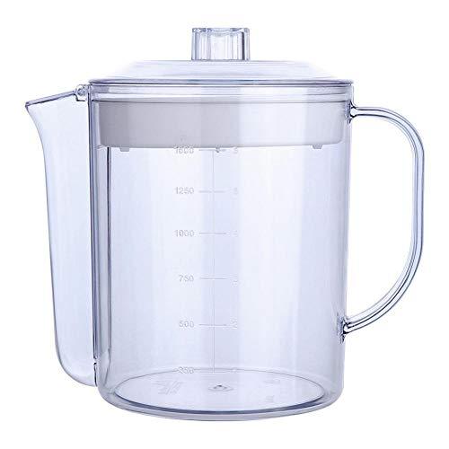 happygirr - Depósito de Aceite para Almacenamiento de Grasa de Aceite, Recipiente de Filtro de Aceite, Recipiente con Mango, para Uso en Aceite, Aceite, etc.