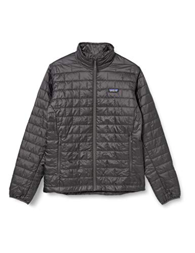 Patagonia Nano Puff Insulated Jacket (Medium, Forge Grey)