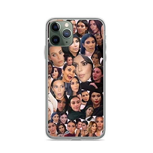 Phone Case Kim Kardashian Compatible with iPhone 6 6s 7 8 X XS XR 11 Pro Max SE 2020 Samsung Galaxy Waterproof Drop