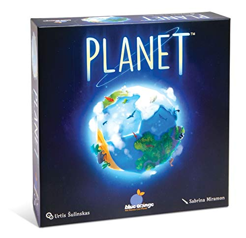 Blue Orange Games Planet Board Game - Award Winning Kids, Family or Adult Strategy 3D Board Game for 2 to 4 Players. Recommended for Ages 8 & Up.