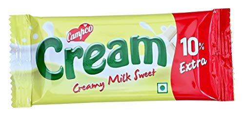 Campco Creamy Milk Sweet Chocolate Bar, 19g (Pack of 46)